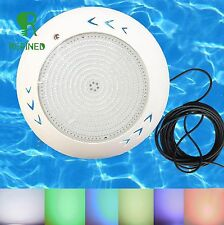 PC Filled resin led swimming pool lights 42W RGB multi-color with 32.8ft cable
