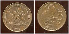 TRINIDAD ET TOBAGO    5  cents  2003   ANM