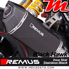 Silenziatore scarico Remus Black Hawk con cat Ducati Hypermotard 939 SP 2016