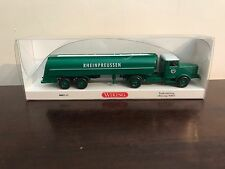 WIKING 1:87 / HO SCALE 088249 BUSSING 8000 ARTICULATED TANKER TRUCK (MIB)