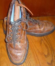 Mephisto Brown Leather Lace-up Casual Oxfords Shoes Men's Size 10