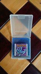 Pokemon: Crystal Version (Nintendo GameBoy Color) .