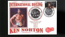 KEN NORTON INTER BOXING HALL OF FAME INDUCTEE COVER
