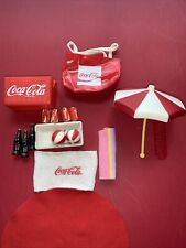 Barbie Coca-Cola Summer Fun Accessories For Play With All Dolls. Vintage Coke