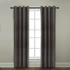 "Veratex Contemporary Grommet Window Panel Curtain, Java, 84"""