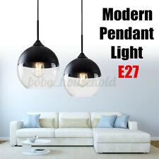 Modern Pendant Light Glass Ceiling Lamp Shade Kitchen Bar Chandelier Lighting b