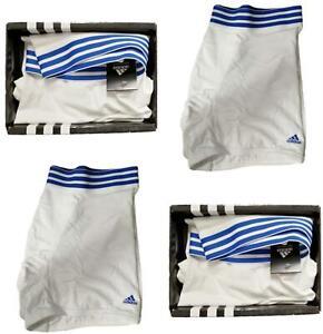 Adidas Mens Essentials Boxers Sports 2 Pack! Mens Underwear White