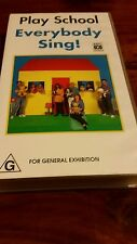 PLAY SCHOOL  EVERYBODY SING!  ABC  VHS VIDEO TAPE
