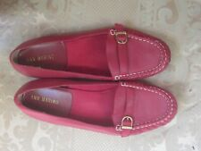 ANN MARINO RED LOAFER, SIZE 8.5 W