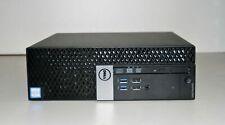 Dell Optiplex 3040 SFF 6th Gen Intel CPU 240 SSD 8GB Ram Windows 10  WIFI