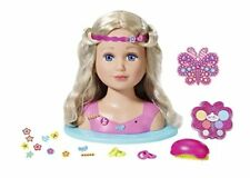 Zapf Creation Baby Born Sister Styling Head Doll & 24 Accessories Playset