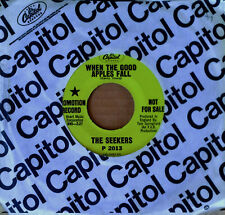 SEEKERS - WHEN THE GOOD APPLES FALL - CAPITOL 45 - GREEN LABEL PROMO