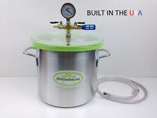 3.0 Gal Aluminum Vacuum Chamber  W- SlickVacSeal