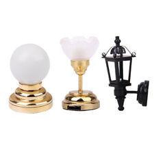 1:12 Dollhouse Furniture Vintage Lampada da parete e lampada a sospensione e