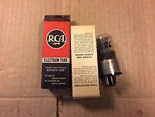 NOS NIB RCA 6J5GT Tube USA 1946 Black Plate tests strong