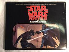 More details for star wars : original vintage star wars portfolio by ralph mcquarrie 1977