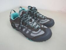 Hi-Tec Penrith Low WP Waterproof Hiking Walking Shoes New size 9.5 aquamarine