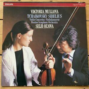 416 821-1 Tchaikovsky & Sibelius Violin Concertos / Viktoria Mullova / Ozawa ...