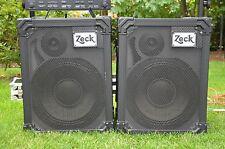 2 Zeck Boxen / Standlautsprecher Club 12 /2