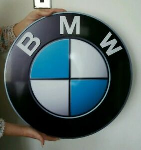 Large BMW 2ft aluminium Sign