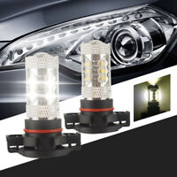 PSX24W Super Bright CREE LED Fog Light Bulbs Xenon  2504 12776 12776C1 Subaru XV