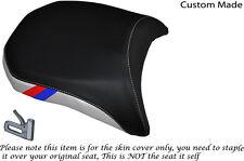 DESIGN2 WHITE &BLACK CUSTOM M3 STRIPE FITS BMW R 1200GS LC REAR 13-15 SEAT COVER