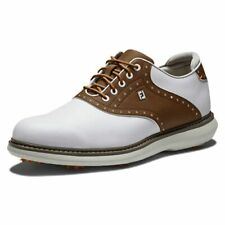 New listing FootJoy Men's Traditions Golf Shoe White/Brown 7