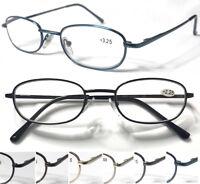 L80 Classic Style Reading Glasses/Spring Hinges/Anti-Scratch Lens/Aspheric Lens