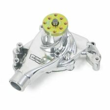 Weiand 9240P Polished Finish Action +Plus Aluminum Water Pump Fits Chevy SB Long