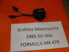 85 86 84 SKI DOO FORMULA MX 470 500 MXZ MACH 1 SKIDOO CDI BOX UNIT IGNITION ECU