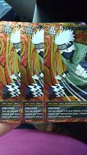 X3 Kakashi Hatake [Oblivion] PR 056 Promo Super Rare Naruto CCG TCG