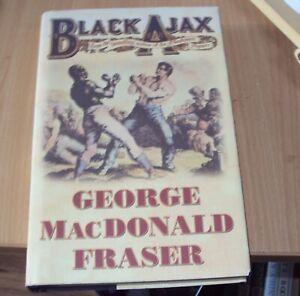 1997 BLACK AJAX by GEORGE MACDONALD FRASER 1st ED HB DUSTJACKET