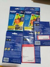 Brother  Innobella Glossy Premium Photo Paper 2 Sheets 4 x 6-Inch 2 pack x 20