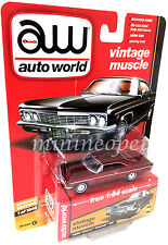 AUTOWORLD AW64072 1966 CHEVROLET IMPALA SS 1/64 CHASE VERSION B ULTRA RED