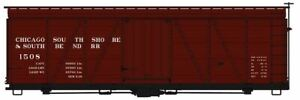 ACCURAIL HO 36'FOWLER WOOD BXCAR CSS&SB   1164