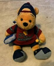 Winnie the Pooh 2004 College Student Disney Parks  Bean Bag Plush NEW w/ Tag 8""