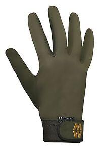 MacWet Shooting Gloves Aquatec Green Non Slip All Grip Long Cuff Sports Glove