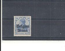 Landespost in Belgien,1916 Michelnrn: 18 b **, postfrisch, Michelwert € 2,50