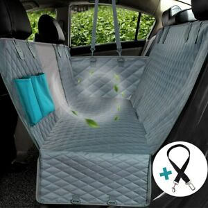 Travel Backseat Pet Mat Protector Cover Waterproof Pet Transport Carrier