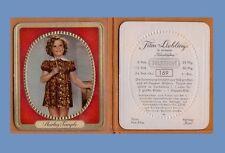 10 day SALE !  1937 Shirley Temple  GARBATY - FILM LIEBLINGE card  #169