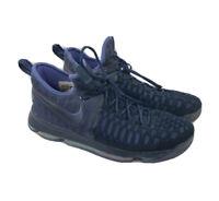 Nike Zoom KD 9 Dark Purple Dust Obsidian  843392-450 Basketball Shoes US Size 12