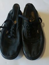 Vans womens size 8 Shoes Black