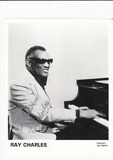 Ray Charles signed photograph with COA