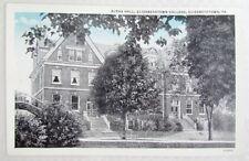 Antique Postcard Alpha Hall Elizabethtown College Elizabethtown Pa