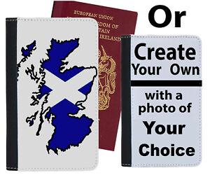 Scottish Flag Passport Holder Scotland Flag Scots Case Cover St Andrew si532