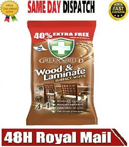 WOOD FLOOR Surface Cleaning Wipes Extra Strong Use on Laminate Cleaner 70 wipes