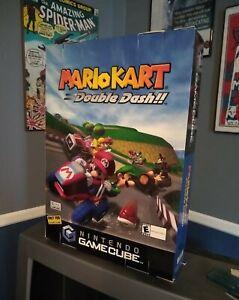 Mario Kart: Double Dash! Store Promo Display Oversized Box Poster Gamecube READ