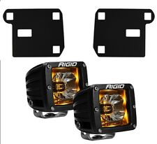 RIGID LED Fog Light Kit Radiance Lights Amber Backlight for 15-17 Chevy Colorado
