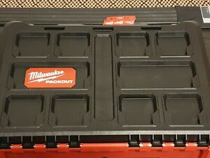 48-22-8450 Milwaukee Packout Case w/Foam Insert For 2853-22 Impact Drill Kit