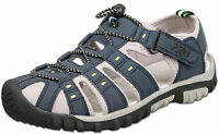 Mens New Blue Closed Toe Walking Trail Holiday Beach Sandal Size 7 8 9 10 11 12
